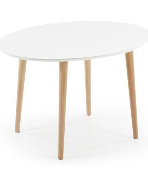 La Forma Rozkladací jedálenský stôl La Forma Oakland, 120 x 90 cm