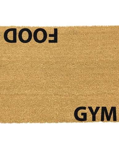 Rohožka z prírodného kokosového vlákna Artsy Doormats Gym Addict, 40 x 60 cm