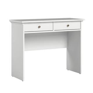 Konzolový stolík biela PARIS