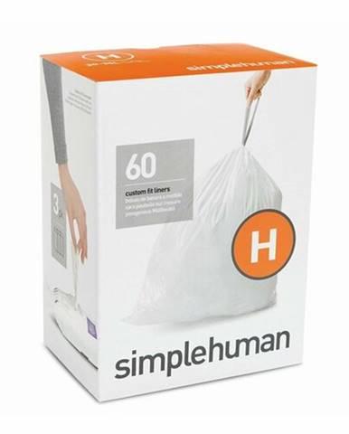 Vrecia do odpadkového koša 30-35 L, Simplehuman typ H zaťahovacie, 3 x 20 ks (60 vriec) CP