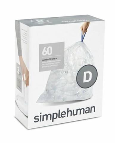 Vrecia do odpadkového koša 20 L, Simplehuman typ D, zaťahovacie, 3 x 20 ks (60 vriec) CP