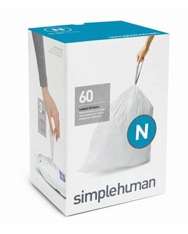 Vrecia do odpadkového koša 45-50 L, Simplehuman typ N zaťahovacie, 3 x 20 ks (60 vriec )