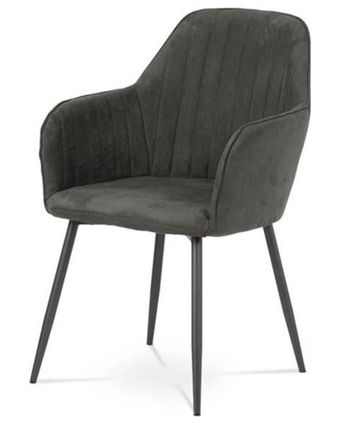 Sconto Jedálenská stolička SONJA sivá