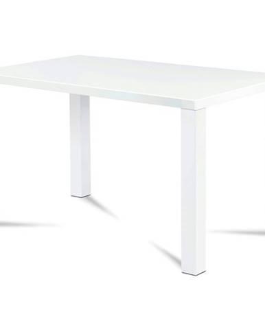 Jedálenský stôl SEBASTIAN biela, 120 cm