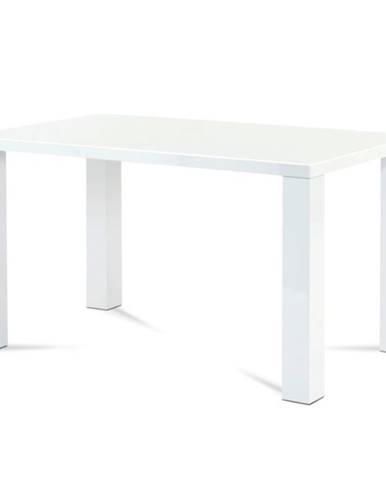 Jedálenský stôl SEBASTIAN biela, 135 cm