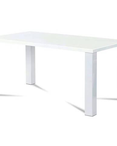 Jedálenský stôl SEBASTIAN biela, 160 cm