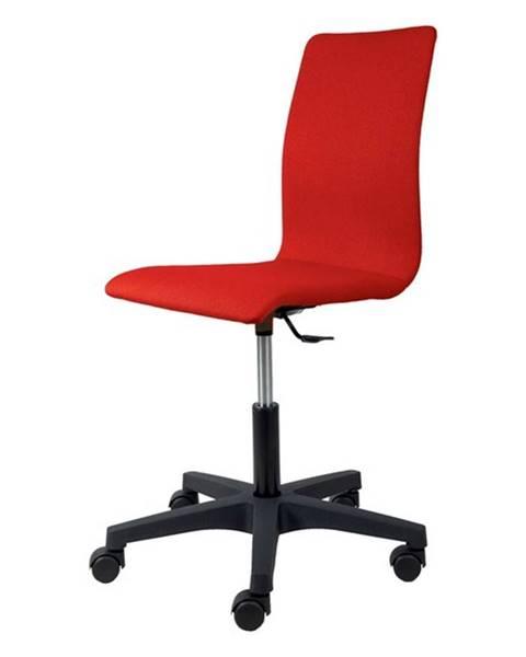 Sconto Kancelárska stolička FLEUR červená
