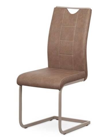 Jedálenská stolička ELSA hnedá