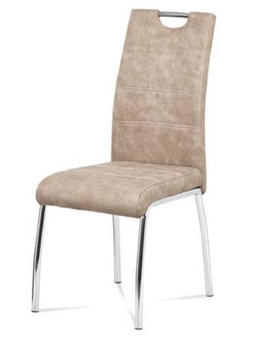 Jedálenská stolička GASELA krémová