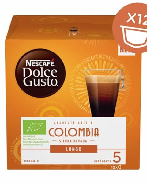 Krups Kapsule Nescafé Dolce Gusto Colombia, 12ks