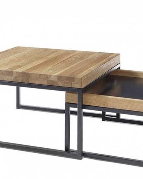 OKAY nábytok Konferenčný stolík Dorset - set 2 kusov