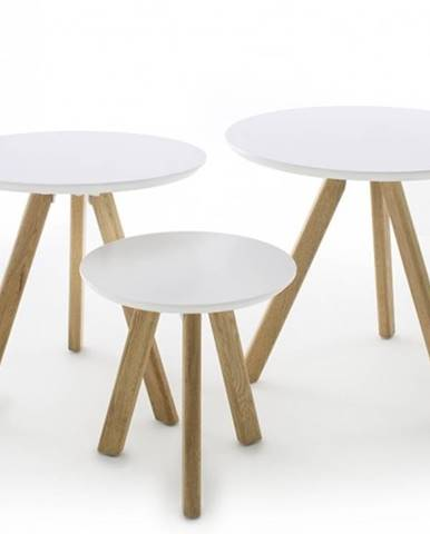 Konferenčný stolík Modun - set 3 kusov