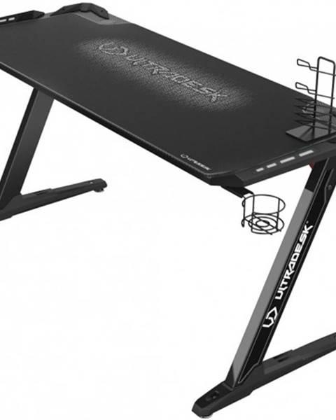 Ultradesk Herný stôl ULTRADESK SPACE XXL WHITE UDESK-SP-WX
