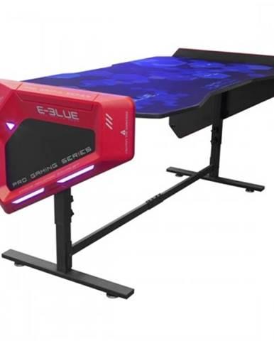 Herný stôl E-Blue EGT003BK,RGB podsvietenie,výškovo nastaviteľný