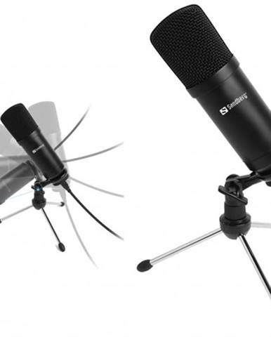 Mikrofón Sandberg Streamer, černý