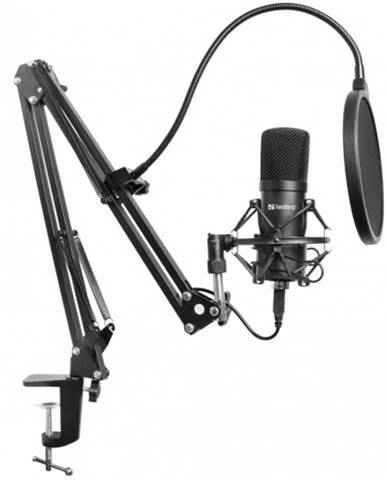 Mikrofón Sandberg Streamer Kit, černý