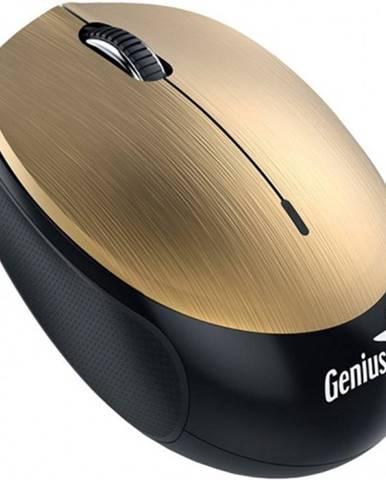 Bezdrôtová myš Genius NX-9000BTU, dobíjacia, zlatá