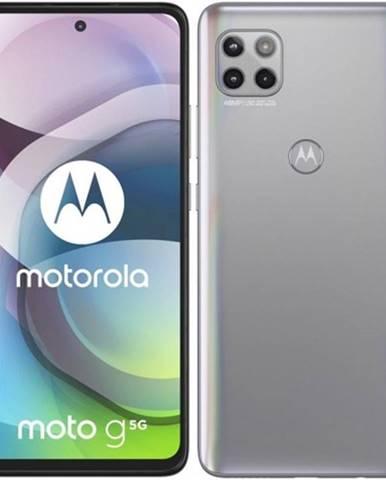 Mobilný telefón Motorola G 5G 6 GB/128 GB, strieborný