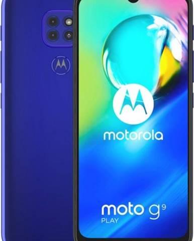Mobilný telefón Motorola G9 Play 4 GB/64 GB, modrý