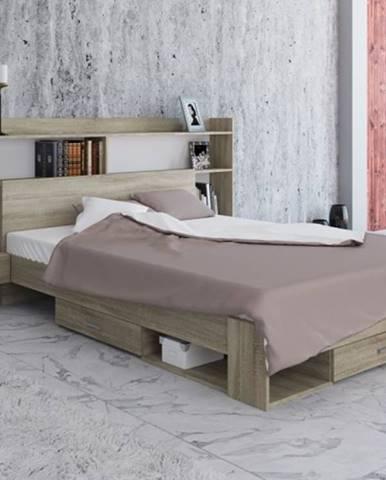 Spálňový program Avona-rám postele, 2 nočné stolíky, polica, ÚP