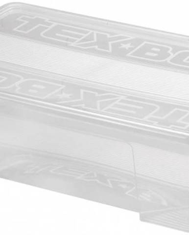 Úložný box s vekom Heidrun HDR7207, 28l, plast VADA VZHĽADU, ODRE