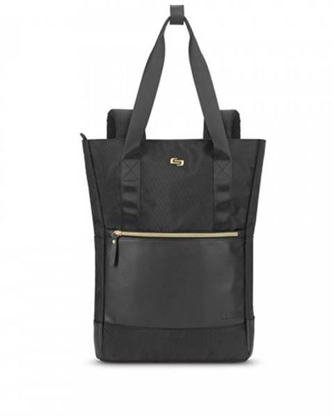 SOLO NY Dámska taška/batoh na notebook SOLO NY Parker Hybrid, čierna