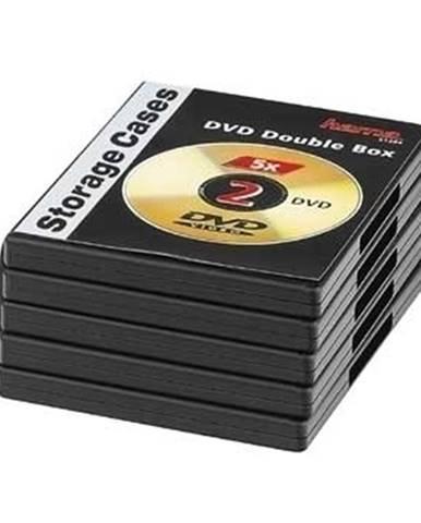 Obal na 2x DVD Hama 51294, double, 5 ks/bal., čierny