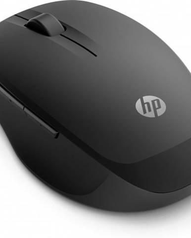 Bezdrôtová myš HP 300 Dual Mode - čierna + Zdarma podložka Olpran