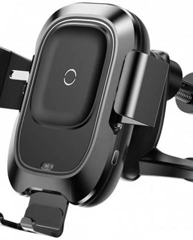 Bezdrôtová nabíjačka do auta s QI, 10W, do mriežky, otočná