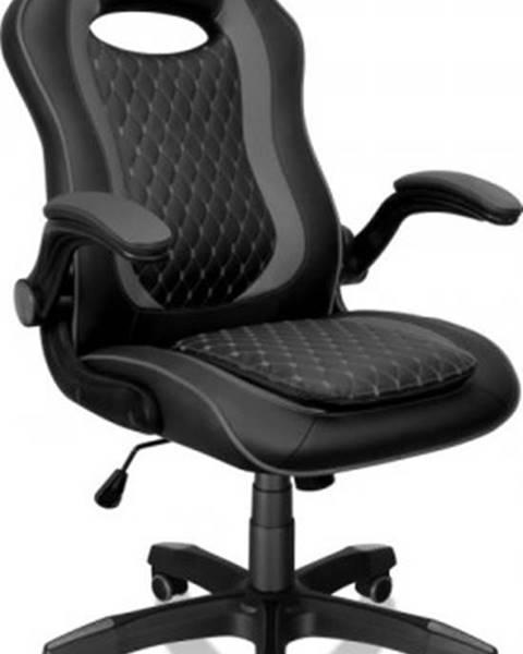 Connect IT Herná stolička Connect IT Matrix Pro, čierna CGC-0600-BK + ZDARMA podložka pod myš a hub