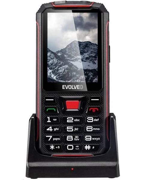 Evolveo Mobilný telefón Evolveo StrongPhone Z4 čierny/červený