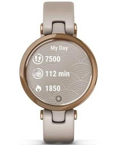 Inteligentné hodinky Garmin Lily Sport Rose Gold / Light Sand
