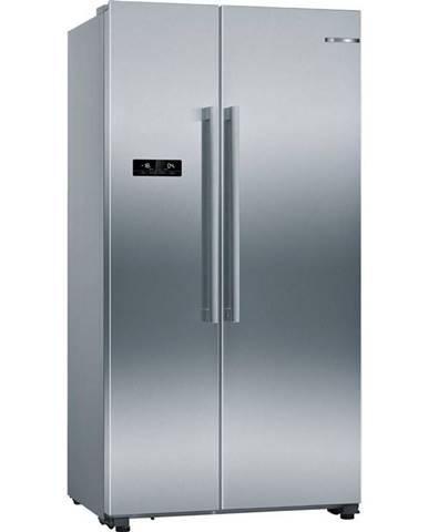 Americká chladnička Bosch Serie | 4 Kan93vifp nerez