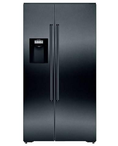 Americká chladnička Siemens iQ700 Ka92dhxfp čierna