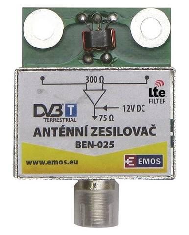 Zosilňovač Emos anténní předzesilovač 25dB VHF/UHF