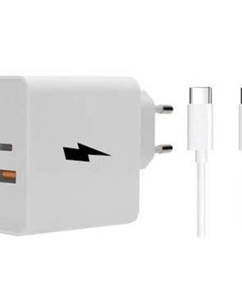 WG Nabíjačka do siete WG 1x USB, 1x USB-C, PD, QC 3.0, 63 W + USB-C