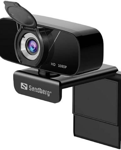 Webkamera Sandberg Webcam Chat 1080p čierna