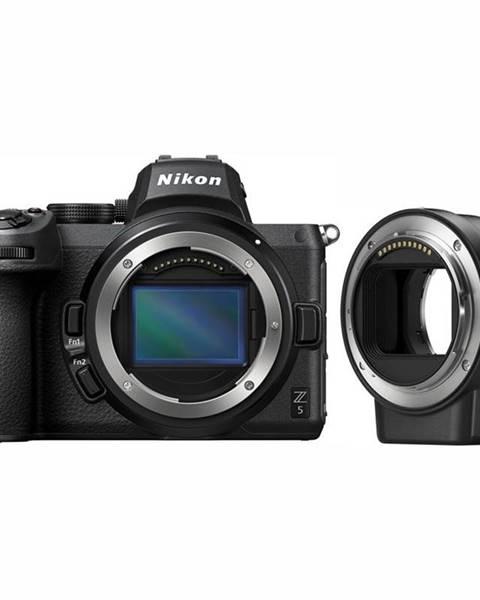 Nikon Digitálny fotoaparát Nikon Z 5 + FTZ adapter  čierny