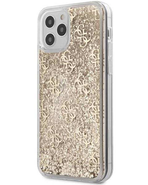Guess Kryt na mobil Guess 4G Liquid Glitter na Apple iPhone 12/12 Pro