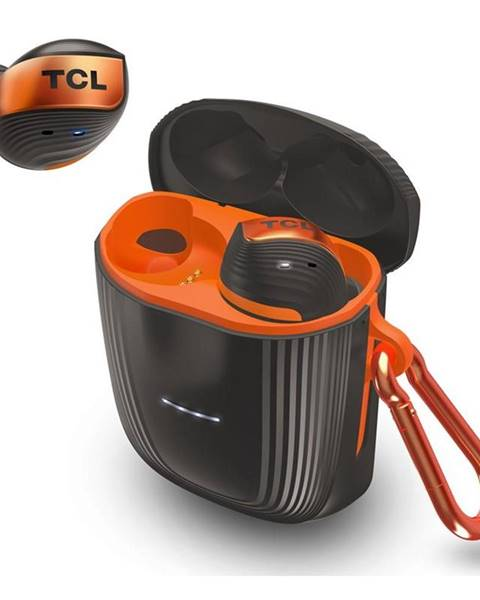 TCL Slúchadlá TCL Actv500tws čierna/oranžová