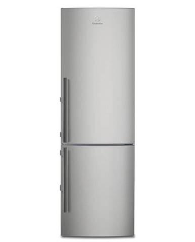 Kombinácia chladničky s mrazničkou Electrolux Lnt4tf33x1 nerez