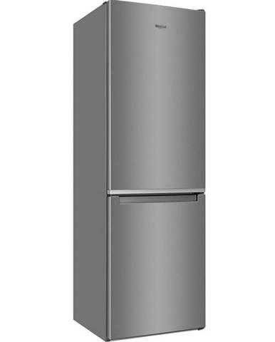 Kombinácia chladničky s mrazničkou Whirlpool W5 811E OX 1 nerez