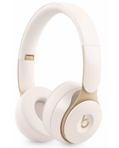 Slúchadlá Beats Solo Pro Wireless Noise Cancelling - slonovinově
