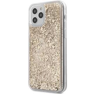 Kryt na mobil Guess 4G Liquid Glitter na Apple iPhone 12/12 Pro