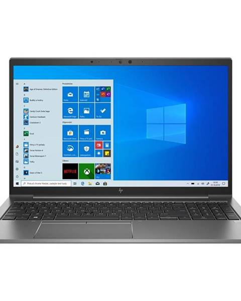 HP Notebook HP Zbook Firefly 15 G7 sivý