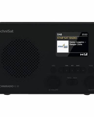 Internetový rádioprijímač Technisat Techniradio 6 IR čierny