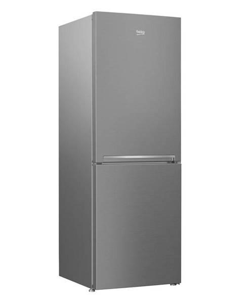 Beko Kombinácia chladničky s mrazničkou Beko Csa240k30sn nerez