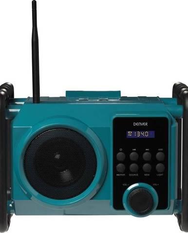 Rádioprijímač Denver WRB-50 zelen