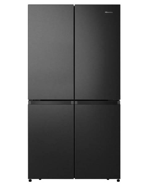 Hisense Americká chladnička Hisense Rq758n4saf1 čierna