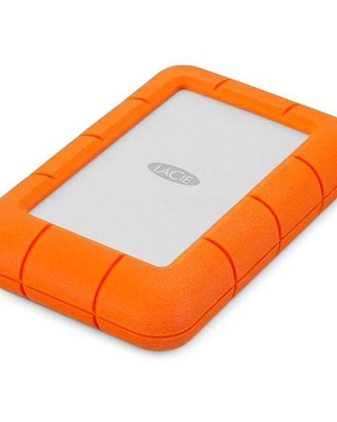 Lacie Externý pevný disk Lacie Rugged Mini 4TB, USB 3.0 oranžový